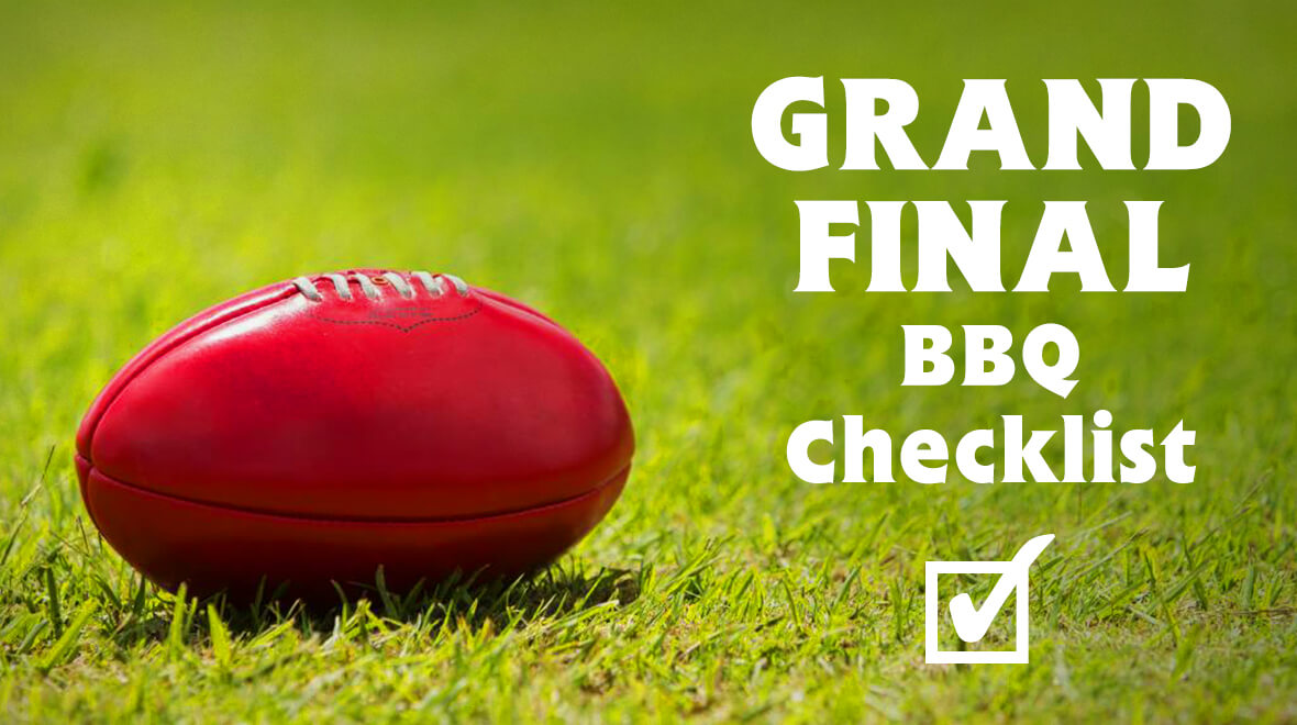The Ultimate Grand Final Day BBQ Checklist